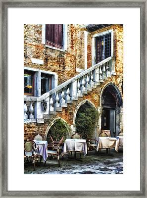 Venice Italy - Romance Framed Print