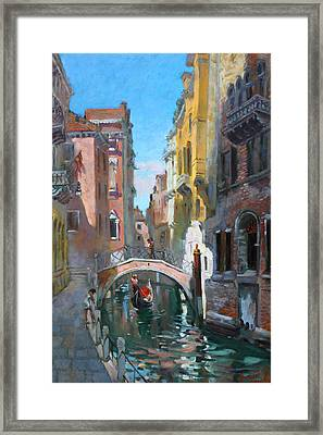 Venice Italy Framed Print by Ylli Haruni