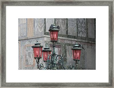 Venice Lights By Day Framed Print