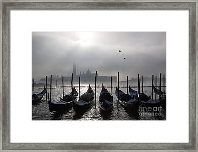 Venice Mist    Ery Framed Print