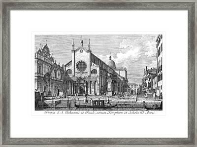 Venice Monument, 1735 Framed Print
