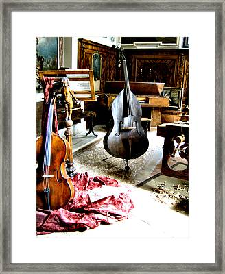 Venice Music 1 Framed Print