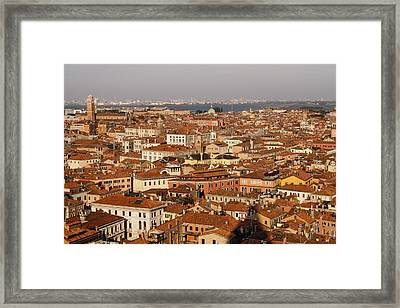 Venice Italy - No Canals Framed Print