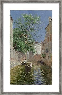 Venice Framed Print by Remy Cogghe