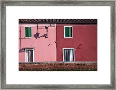 Venice Outlines.. Framed Print