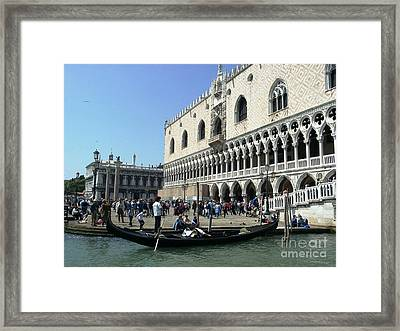 Venice Palazzo Ducale Framed Print