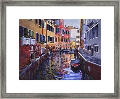 Venice Framed Print by Douglas Simonson