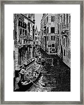 Venice Framed Print by Patricio Lazen