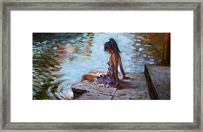Venice Reflections Framed Print by Ylli Haruni