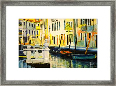 Venice Remembered Framed Print by Ron Richard Baviello