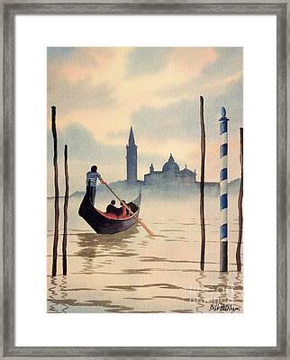 Venice San Giorgio Island Framed Print