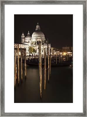 Venice Santa Maria Della Salute  Framed Print by Melanie Viola