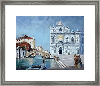 Venice - Scuola Di San Marco Framed Print