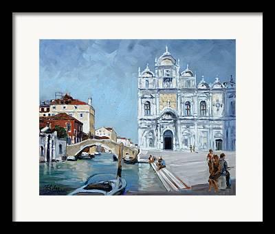 Canale Dei Mendicanti Framed Prints