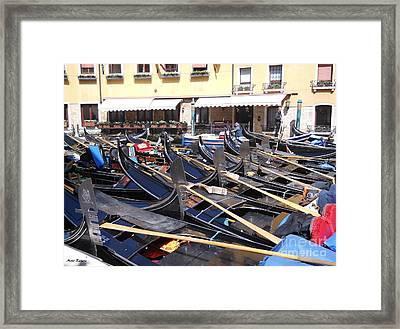 Venice Series 2 Framed Print by Ramona Matei