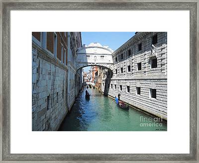 Venice Series 3 Framed Print by Ramona Matei