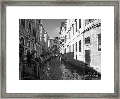 Venice Series 4 Framed Print by Ramona Matei