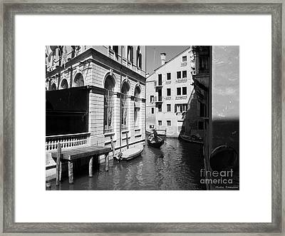 Venice Series 5 Framed Print by Ramona Matei