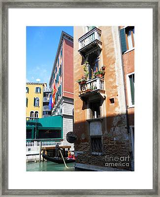 Venice Series 6 Framed Print by Ramona Matei
