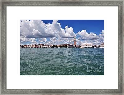 Venice Framed Print by Simona Ghidini