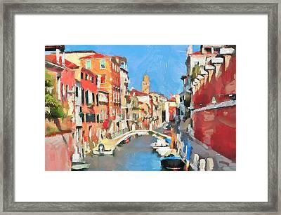 Venice Today Framed Print