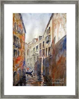 Venice Travelling Framed Print
