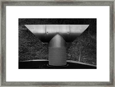Vent Pipe Framed Print