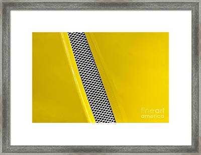 Vented Framed Print by Linda Bianic