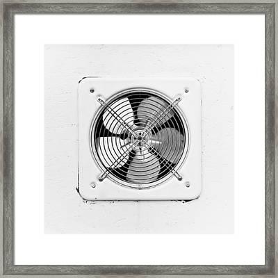 Ventilation Fan Framed Print by Tom Gowanlock