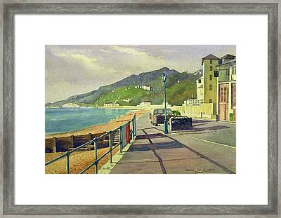 Ventnor, Isle Of Wight Framed Print