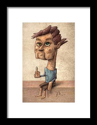 Freak Framed Prints