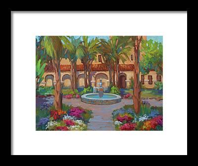 San Gabriel Framed Prints
