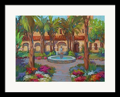Mission San Rafael Framed Prints