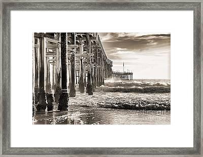 Ventura Pier Study I Framed Print