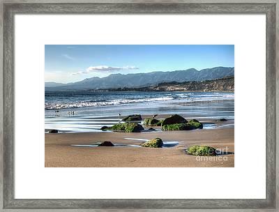 Ventura Shoreline Framed Print