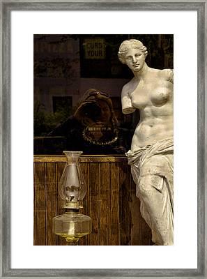 Venus And Me Framed Print by Joanna Madloch