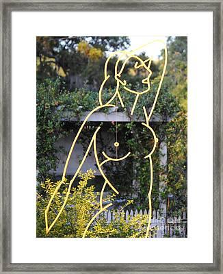Venus De Largo Framed Print by Robert Buck