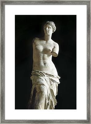 Venus De Milo. 2nd C. Bc. Hellenistic Framed Print