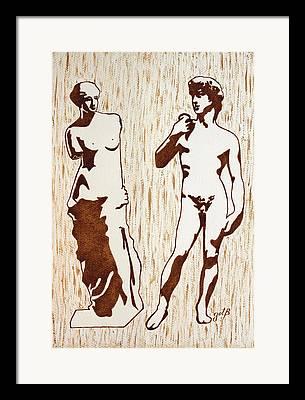 Aphrodite Of Milos Framed Prints