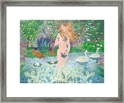 Venus En Primavera Framed Print