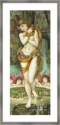 Venus Framed Print by John Roddam Spencer Stanhope