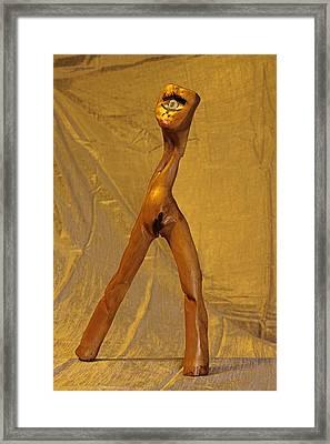 Venus Of Cyclops Framed Print by Viktor Savchenko