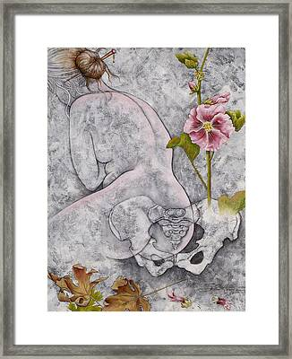 Framed Print featuring the painting Venus by Sheri Howe