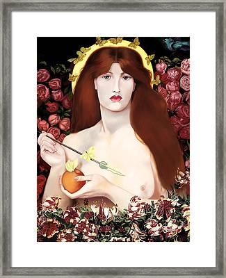 Venus Vorticordia Framed Print by Andrew Harrison