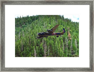 Vera Runs The Dam  Framed Print by J Biggadike