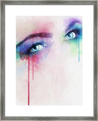 Vera Framed Print by Taylan Apukovska