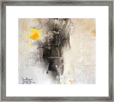 Framed Print featuring the painting Veracity by Ron Richard Baviello