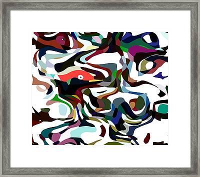 Verborgen-2 Framed Print by Peter Norden