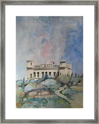 Verdala From Buskett Garden Framed Print