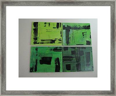 Verdant Earth Framed Print